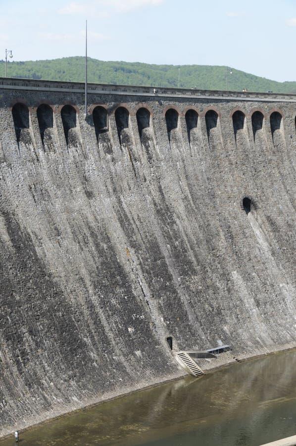 De grote Edersee-Dam, Duitsland stock foto's