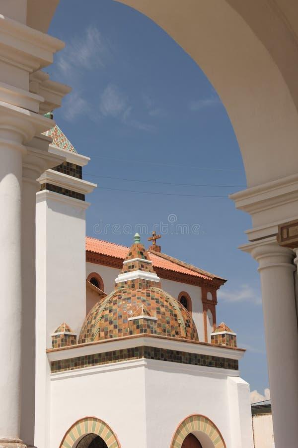 De grote kathedraal van Copacabana royalty-vrije stock foto's