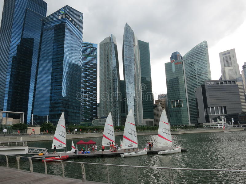 Singapore stock fotografie