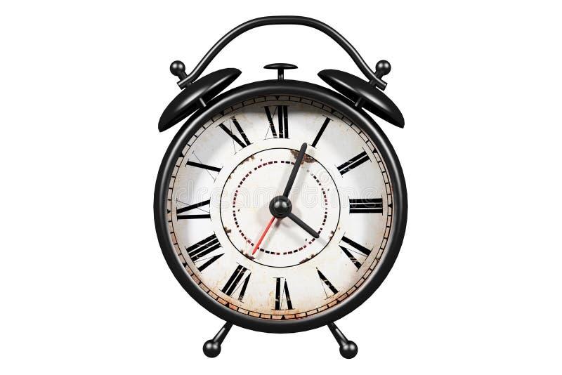 De grote klok verzekert omhoog kielzog vector illustratie
