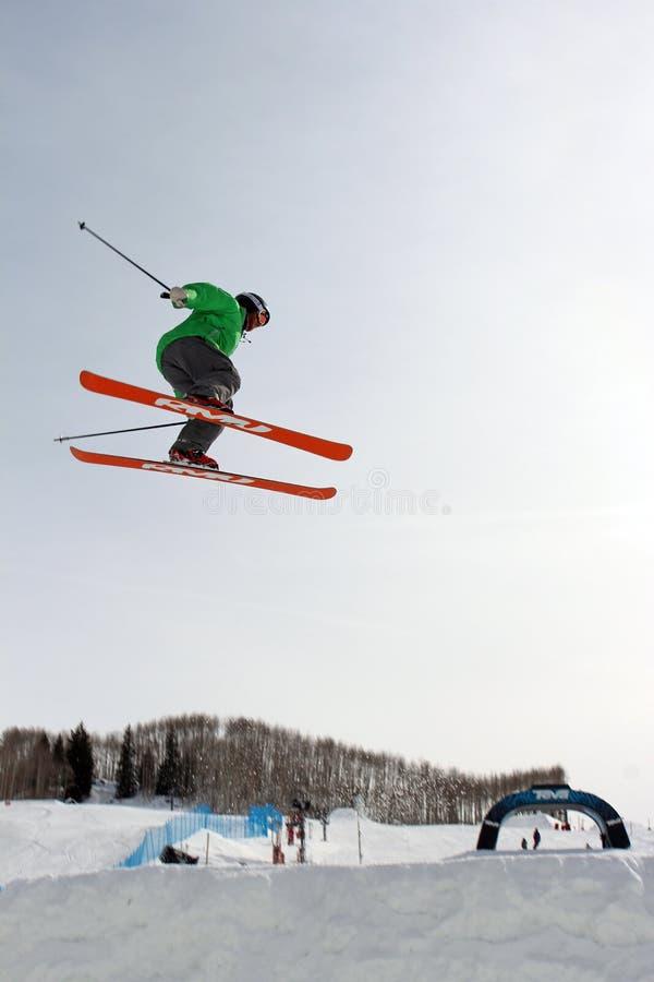 De Grote Lucht van Telemark van Thule royalty-vrije stock afbeeldingen