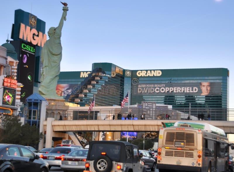De Grote mening van MGM van de straat royalty-vrije stock afbeeldingen