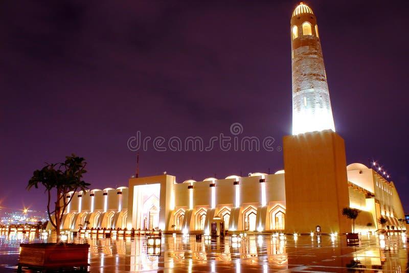 De grote moskee stock fotografie