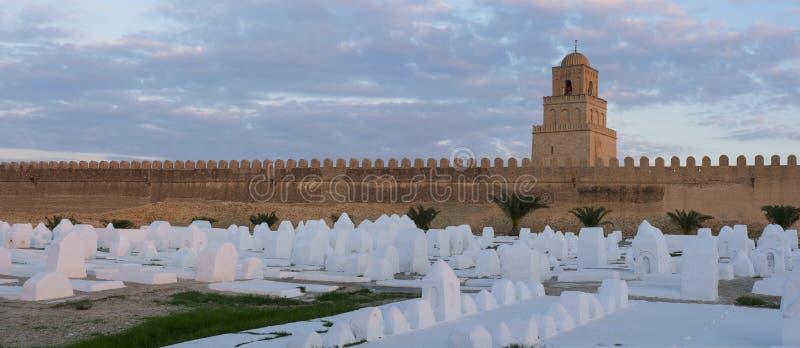 De grote Moskee van Kairouan royalty-vrije stock foto