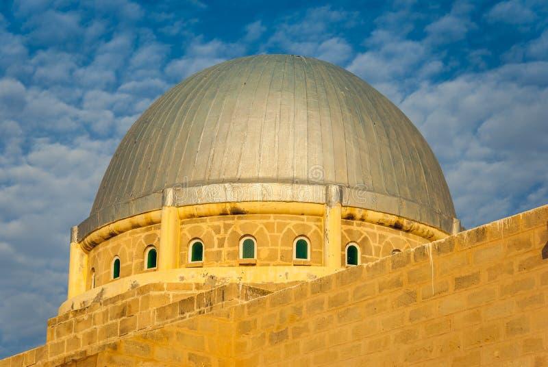 De Grote Moskee van Mahdia, Tunesië stock foto