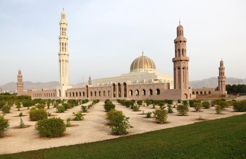 De Grote Moskee van Qaboos van de sultan royalty-vrije stock afbeelding