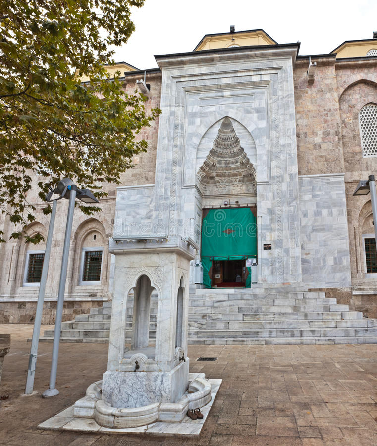 De Grote Moskee van slijmbeurs stock fotografie