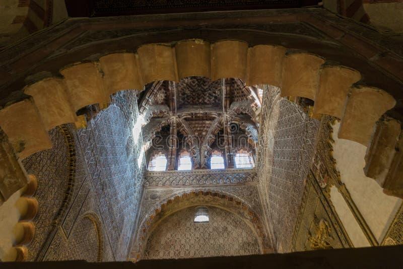 De Grote Moskeekathedraal van het Binnenland van Cordoba stock foto