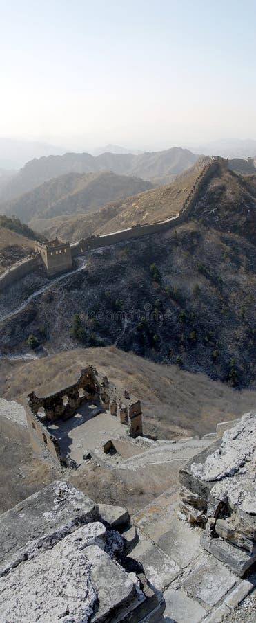 De Grote Muur van Si Ma Tai royalty-vrije stock foto
