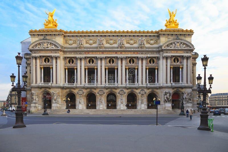 De grote Opera, Parijs royalty-vrije stock afbeeldingen