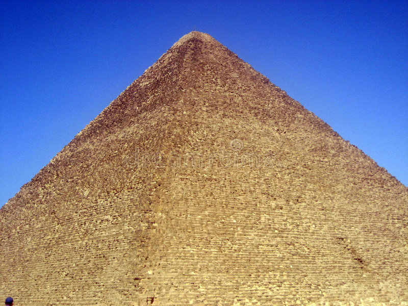 De grote Piramide stock foto