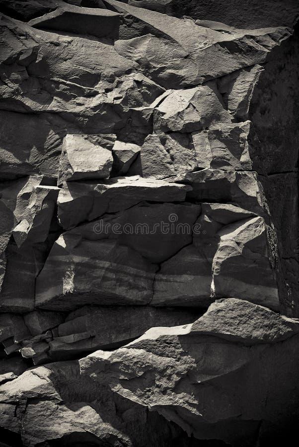 De grote rotsen van de Canion stock foto