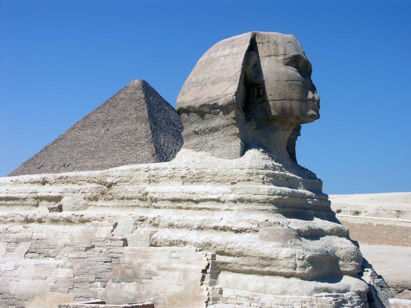 De grote Sfinx stock fotografie