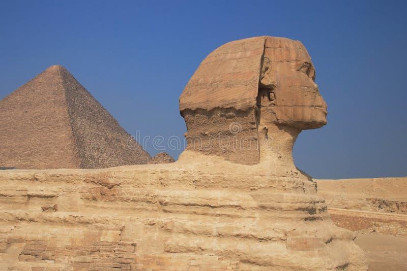 De grote Sfinx stock afbeeldingen