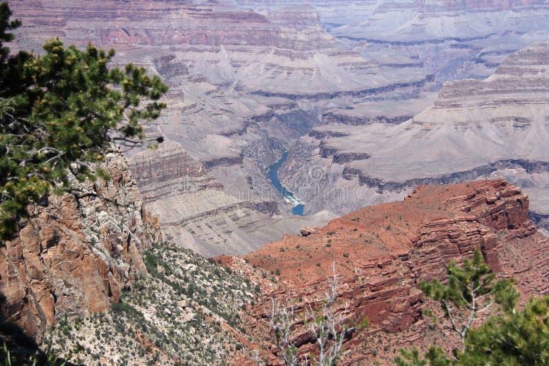 De grote vallei van de Canion stock foto