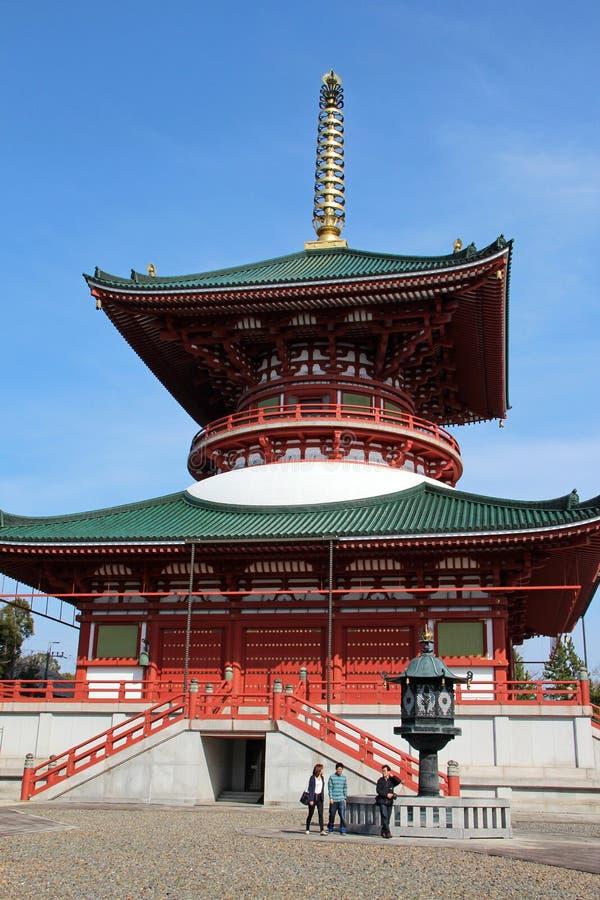 De Grote Vredespagode, Narita stock foto's
