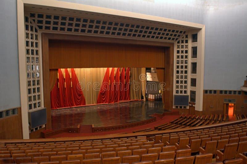 De Grote Zaal van Mensen, Peking, China stock foto