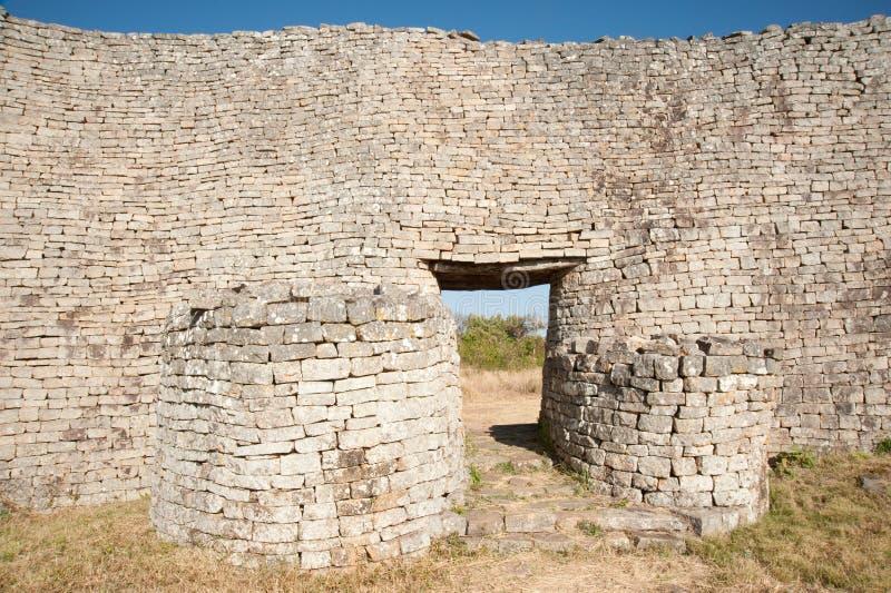 De grotere Muur van Zimbabwe royalty-vrije stock fotografie