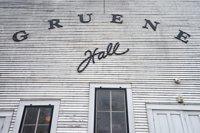De Gruene-Zaal bouwde 1878 in royalty-vrije stock fotografie