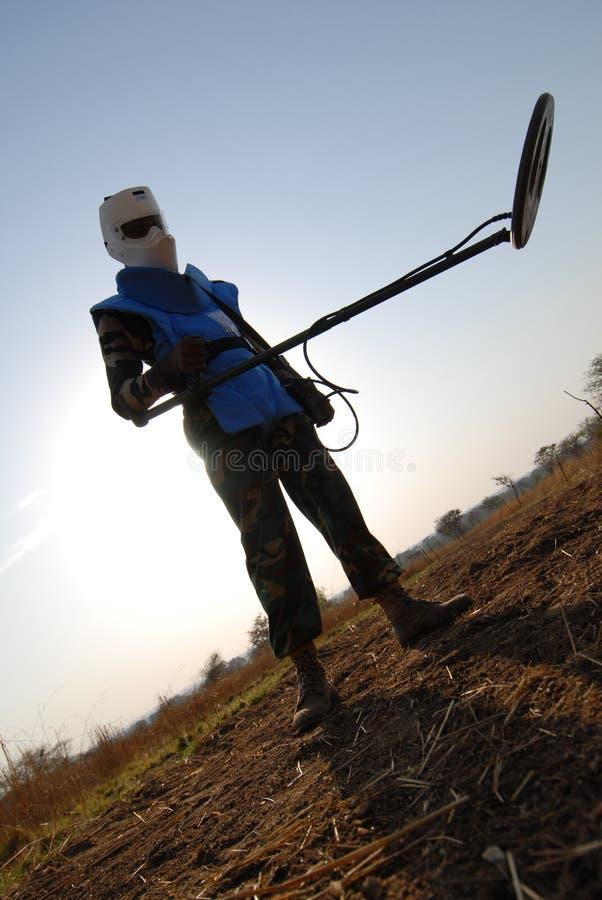 de gruvarbetare sudan royaltyfri fotografi