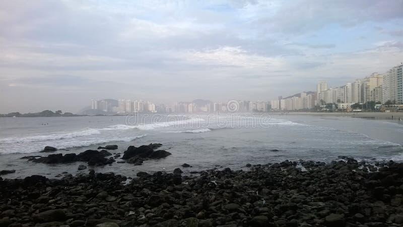 ¡de Guarujà - Pitangueiras fotografía de archivo libre de regalías