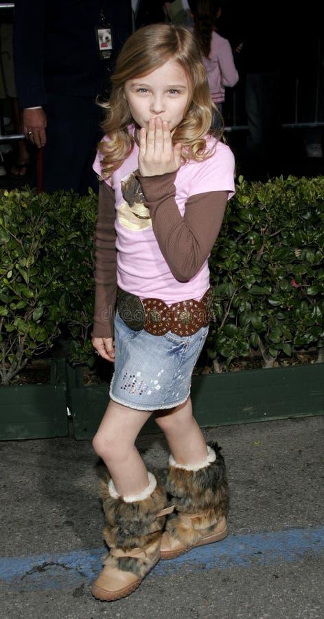 De Gunst Moretz van Chloe stock afbeelding