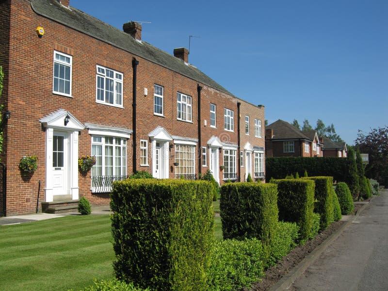 De haag van Groot-Brittannië Yorkshire van huizen royalty-vrije stock fotografie