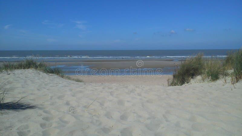 De Haan Beach immagine stock