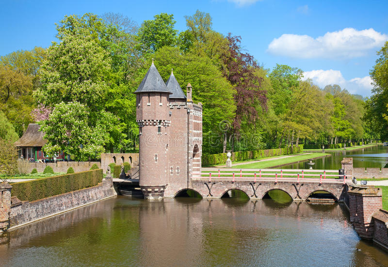 De Haar castle stock photo