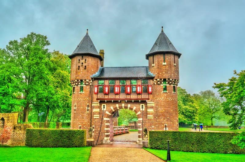 De Haar Castle near Utrecht, Netherlands royalty free stock photo