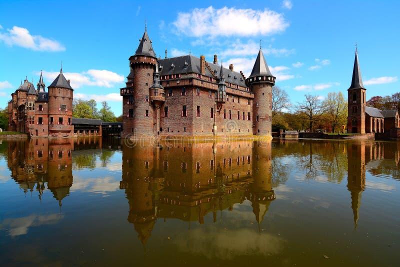 DE Haar Castle, Netherland royalty-vrije stock afbeelding