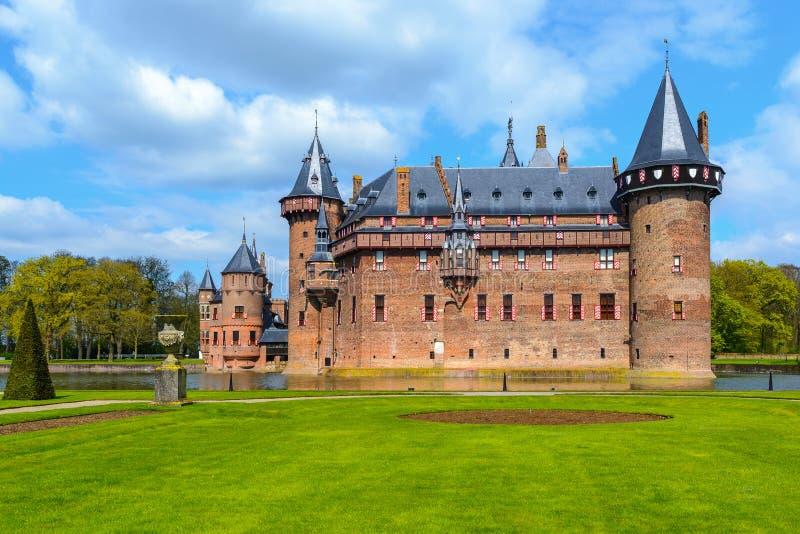 De Haar Castle, The Netherlands stock photos