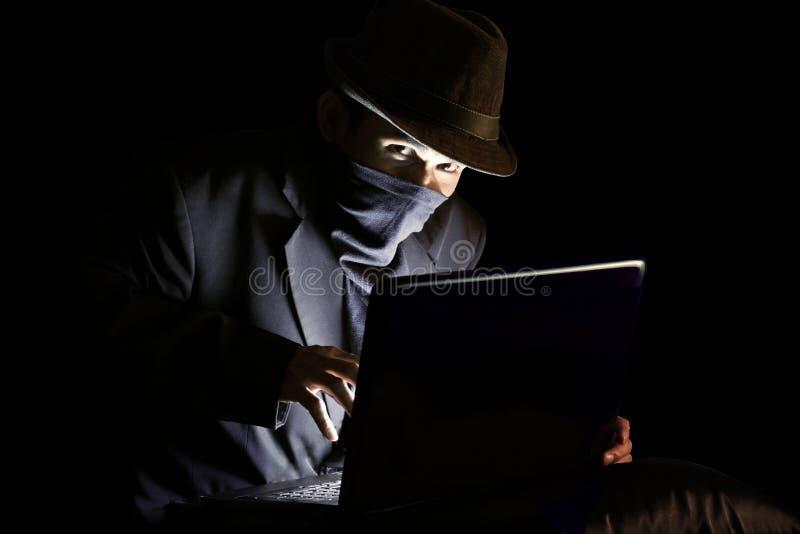 De Hakker van de computer royalty-vrije stock foto