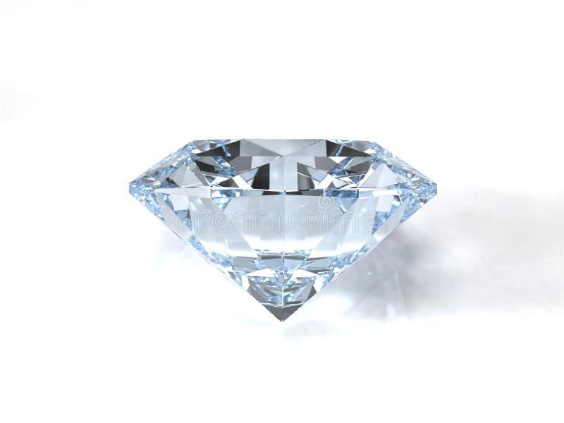 De halfedelsteen van de diamant stock illustratie