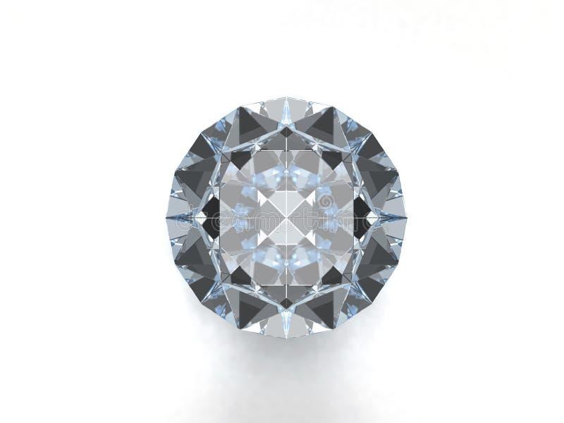 De halfedelsteen van de diamant vector illustratie