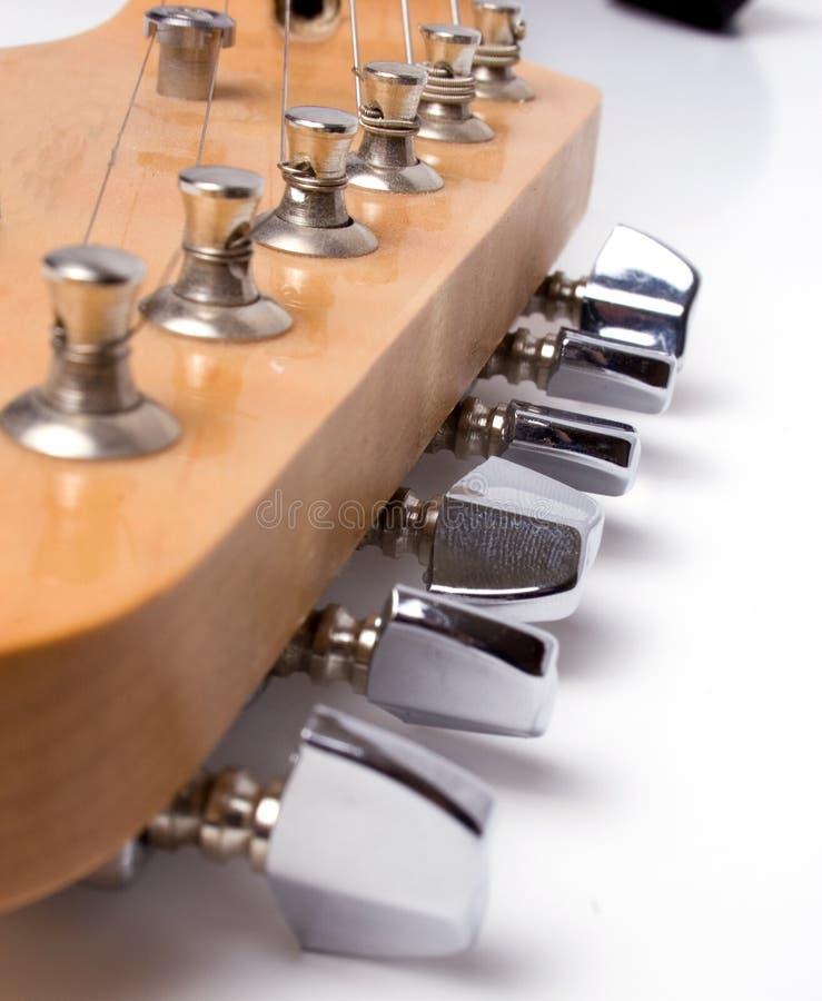De hals van de gitaar stock afbeelding