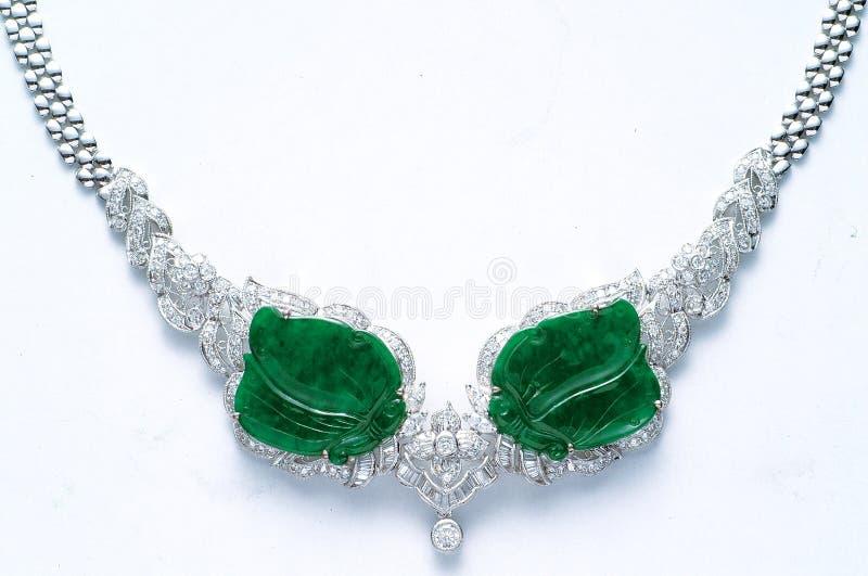 De Halsband van de diamant stock fotografie