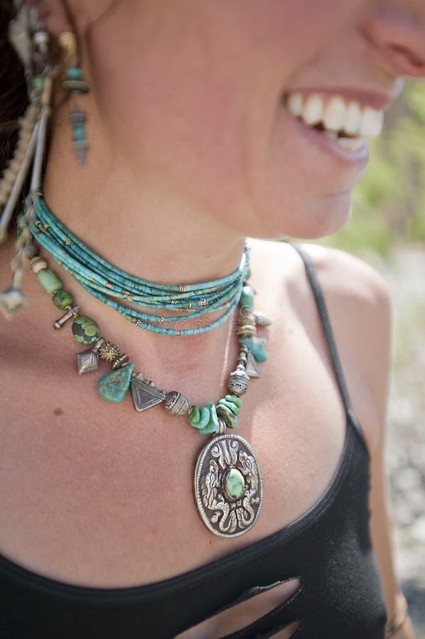 De Halsband van de draak stock foto's