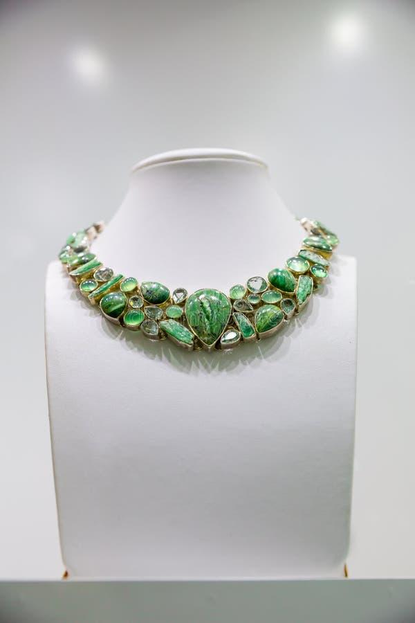 De halsband van de gemsteen royalty-vrije stock foto