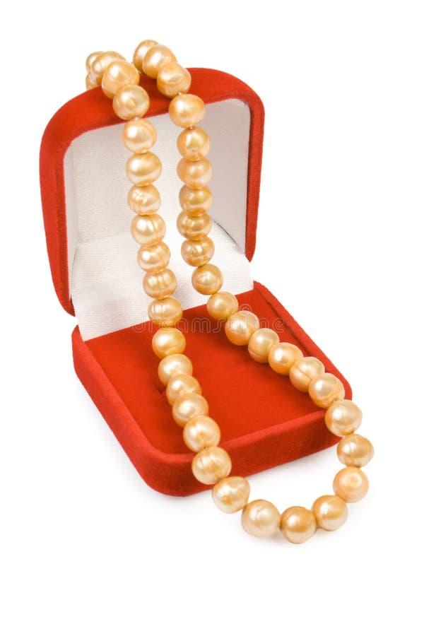 De halsband van de parel royalty-vrije stock foto