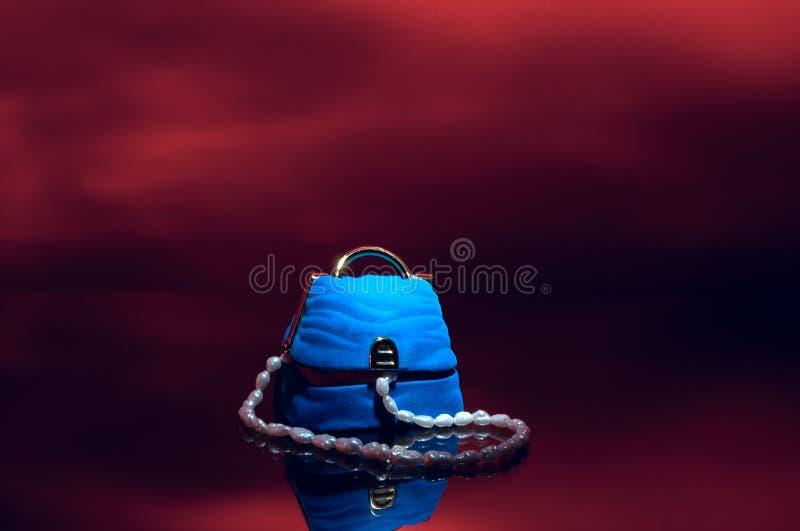 De halsband van de parel. stock afbeeldingen