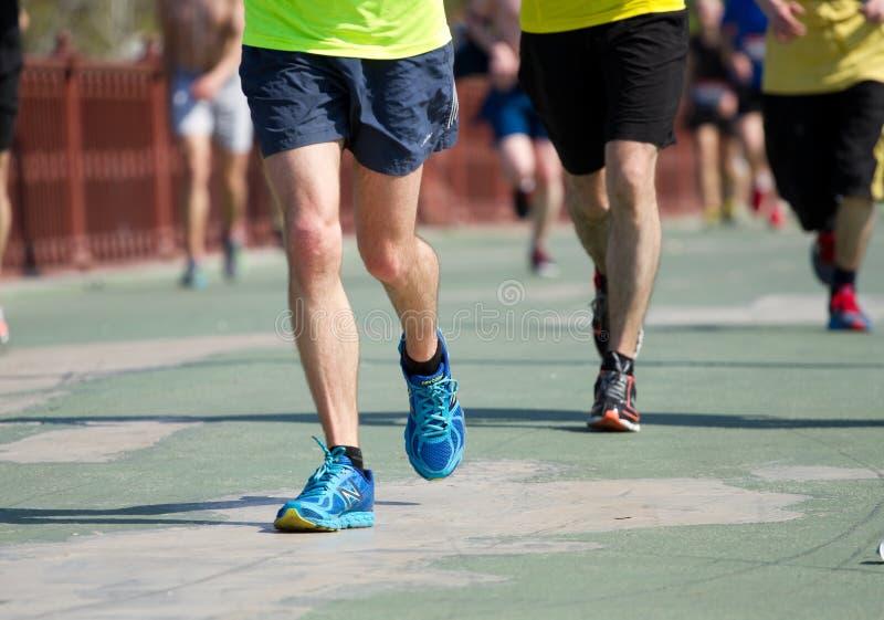 De halve marathon van Kiev royalty-vrije stock fotografie