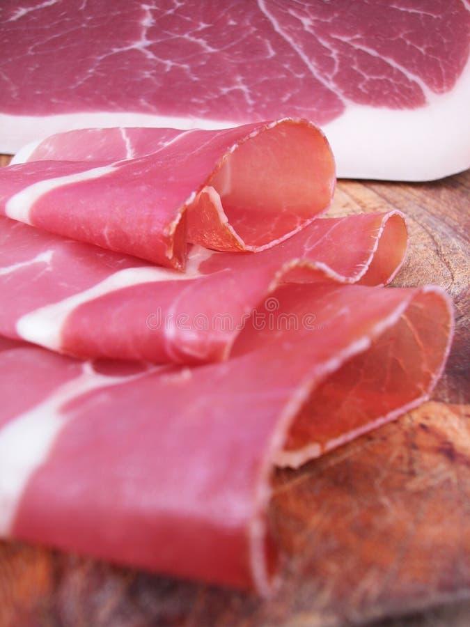 De ham van Parma stock fotografie