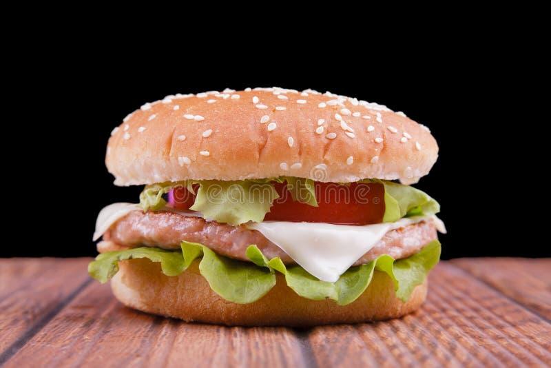 Download De hamburger van de kip stock foto. Afbeelding bestaande uit dieet - 29508516