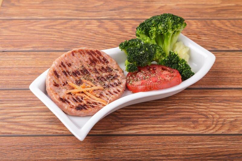 Download De hamburger van de kip stock foto. Afbeelding bestaande uit calorieën - 29510332