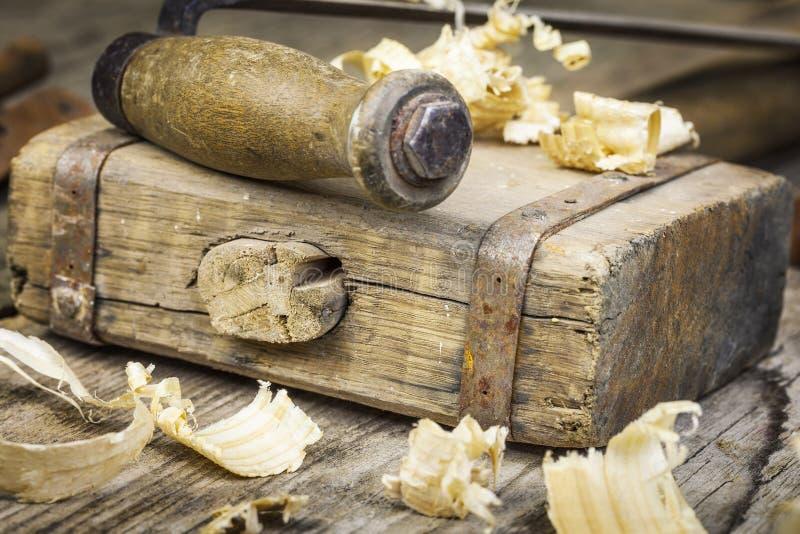 De hamer van de oude timmerman royalty-vrije stock fotografie