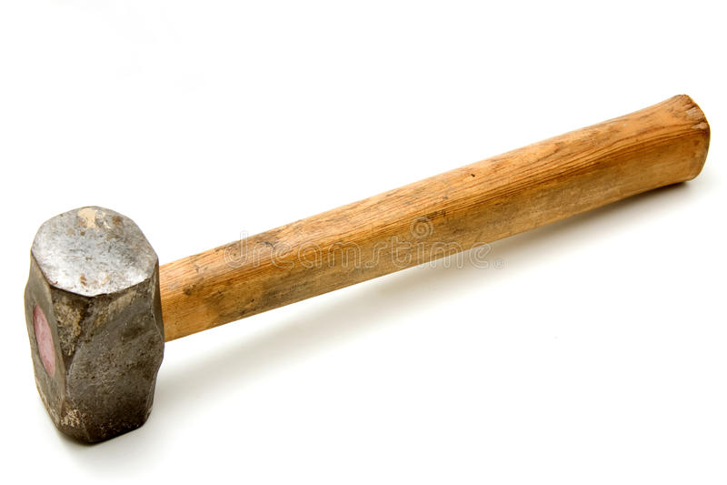 De hamer van het metaal stock foto's
