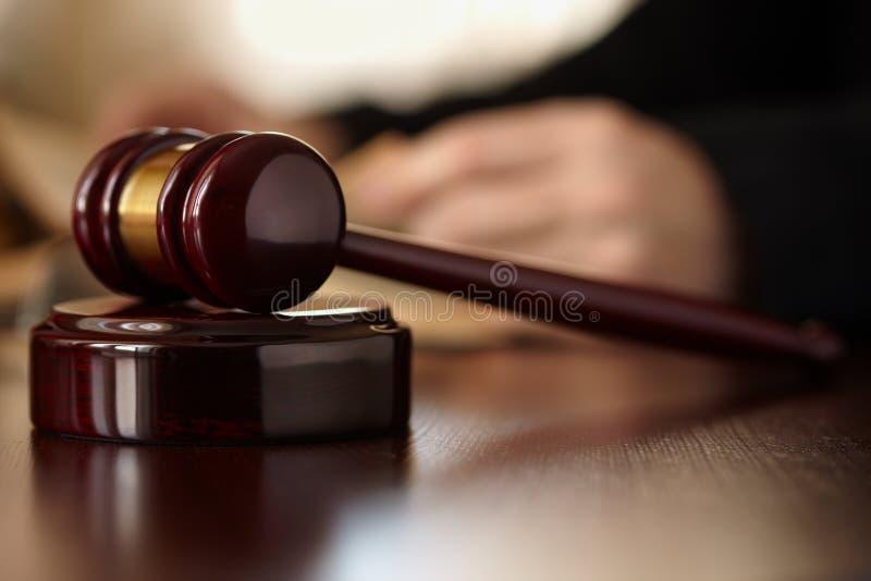 De Hamer van rechters royalty-vrije stock fotografie