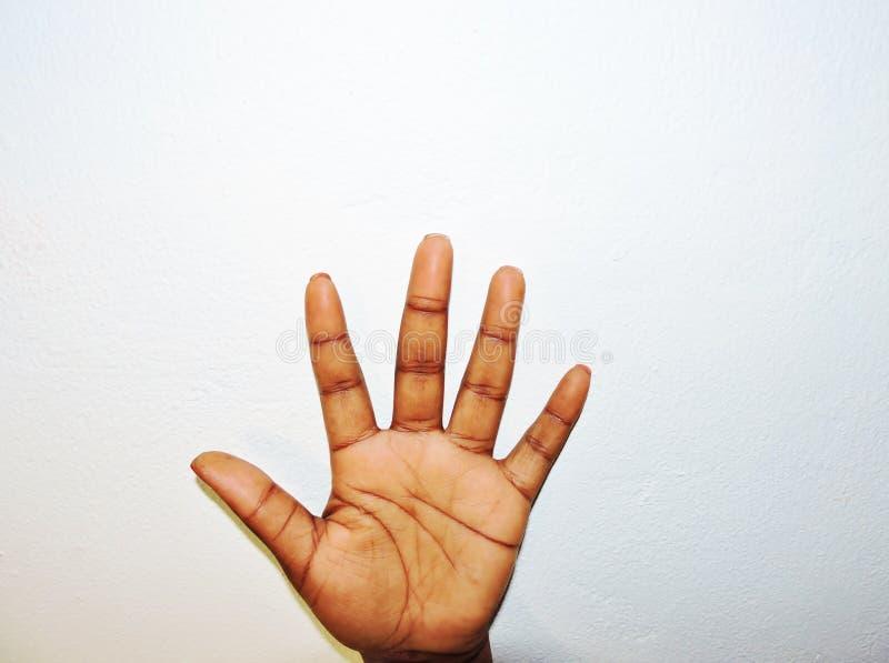 De hand royalty-vrije stock afbeelding