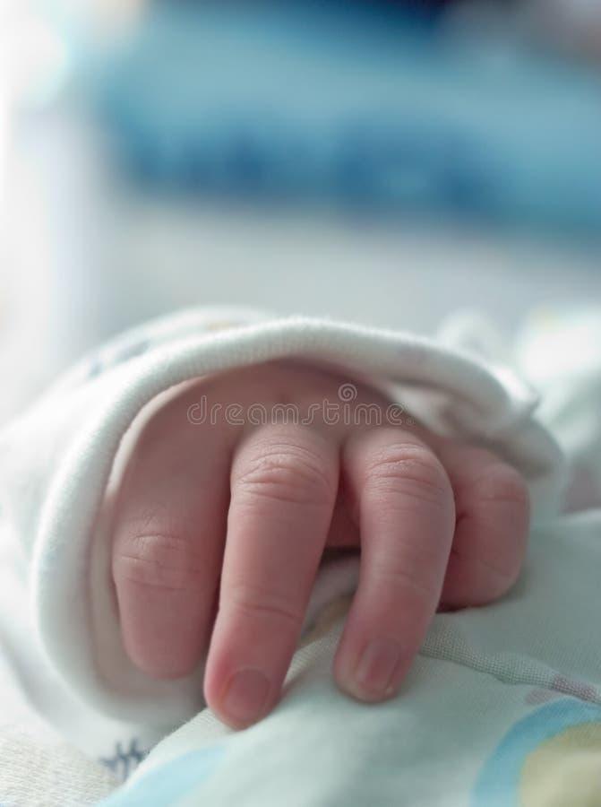 De Hand van de baby royalty-vrije stock foto's